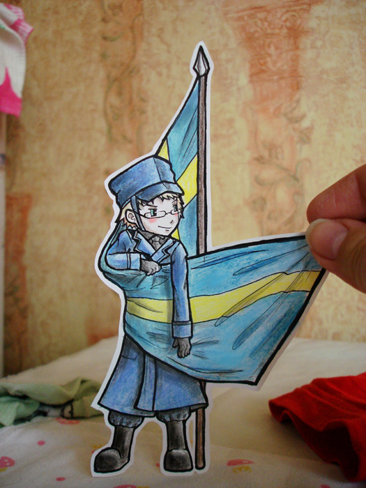 Sweden -  paper child by Annuhka