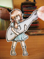 Seychelles -  paper Child by Annuhka
