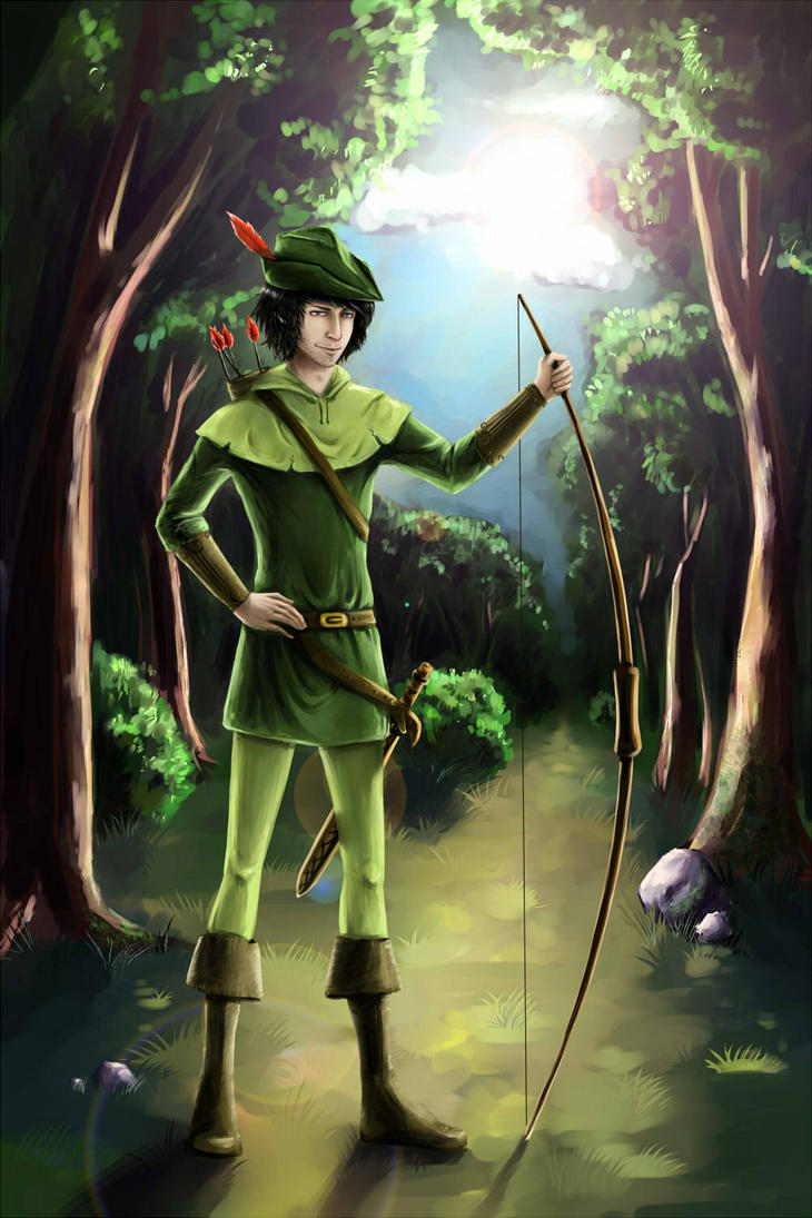 Robin Hood by Annuhka