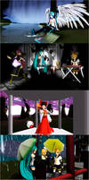 Some Miku Miku Dance pictures by purplemagechan
