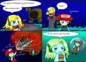 Cave Story Comic: AI Bravery by purplemagechan