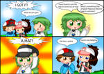 Pokemon Black and White Comic: Hats