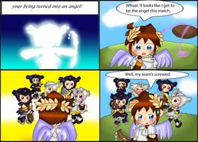 Kid Icarus Uprising: Team by purplemagechan