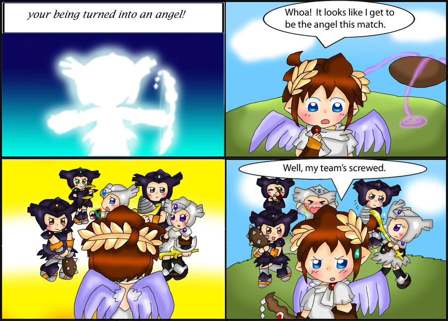 Kid Icarus Don T Curse The Darkness Light A Candle