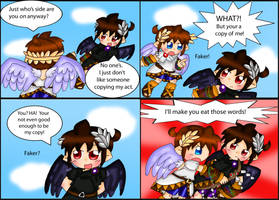 Kid Icarus Uprising: Copycat by purplemagechan