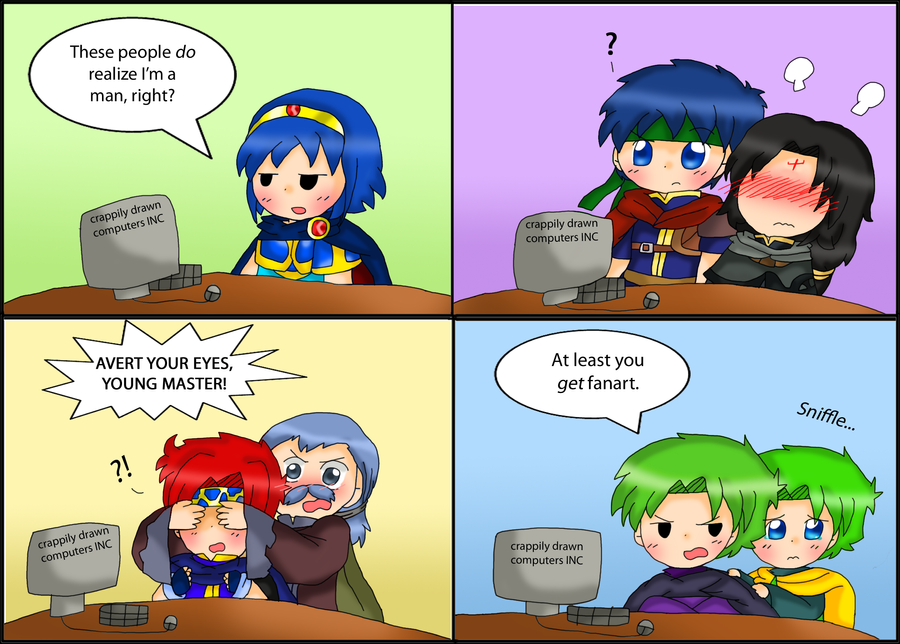 Anime Characters React Fanfiction : Fire emblem reacts to fanart by purplemagechan on deviantart