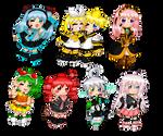 Vocaloids!  So many Vocaloids!