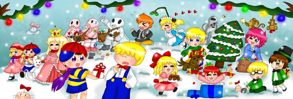 Earthbound Christmas Contest by purplemagechan on DeviantArt