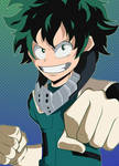 Deku color by SaikoAweonaoXXlll