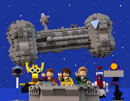 LEGO Mystery Science Theater 3000
