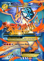 Team Plasma's Mega Charizard Y EX Custom Card by KryptixDesigns