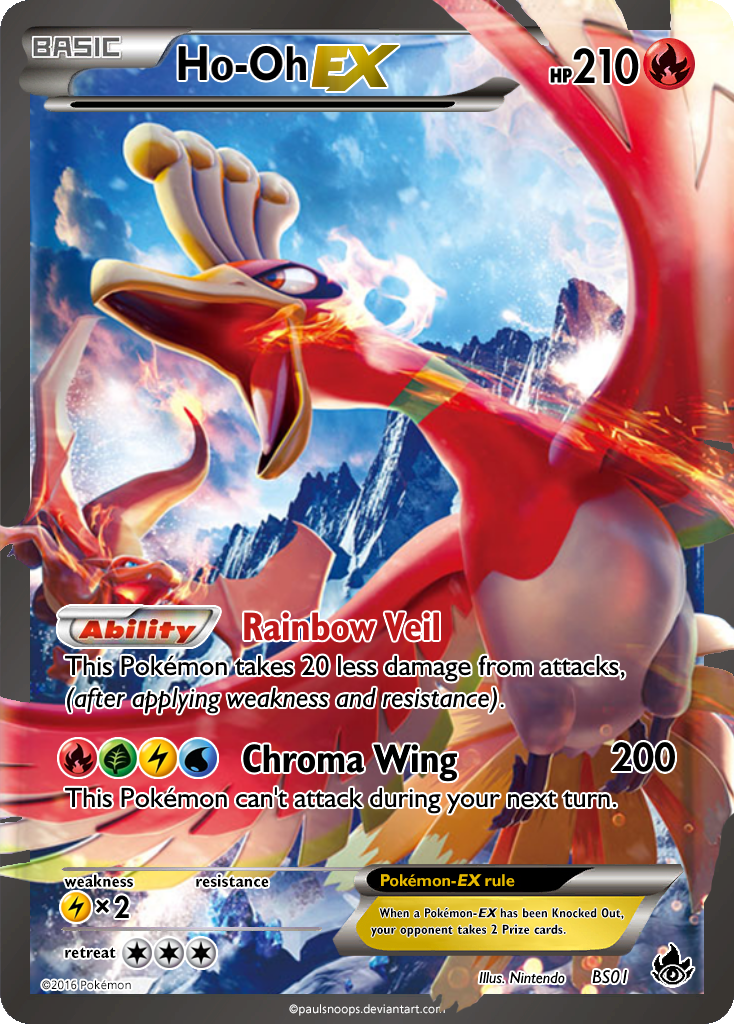 Ho Oh Ex Fa Burning Shadows Promo 1 By Kryptixdesigns On