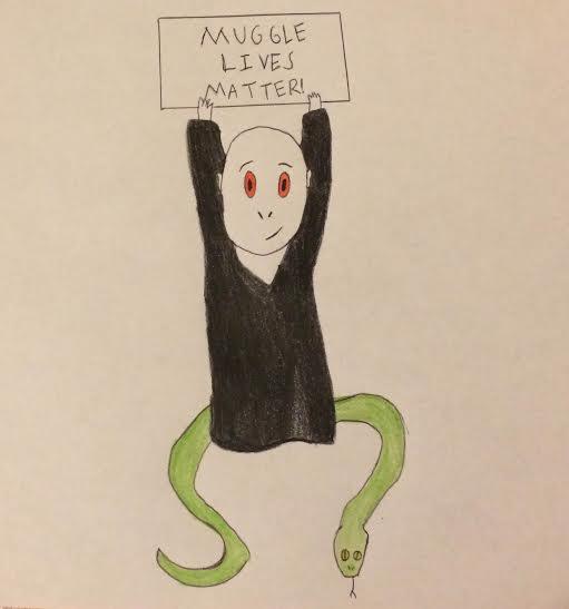 Chibi Voldy- Muggle Rights Activist by Sherlocks2ndBlogger