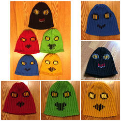 Minimalist Voltron Lion Hats by Sherlocks2ndBlogger