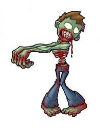 zombie by cheesyniblets