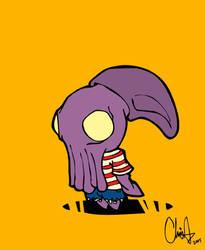 squid head boy