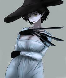 lady dimitrescu anime