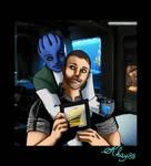 Liara e Shepard