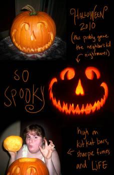 Halloween 2010 Punkin Funtimes