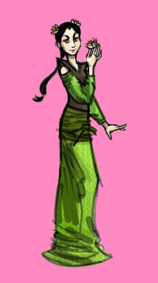 Master Viper as Woman