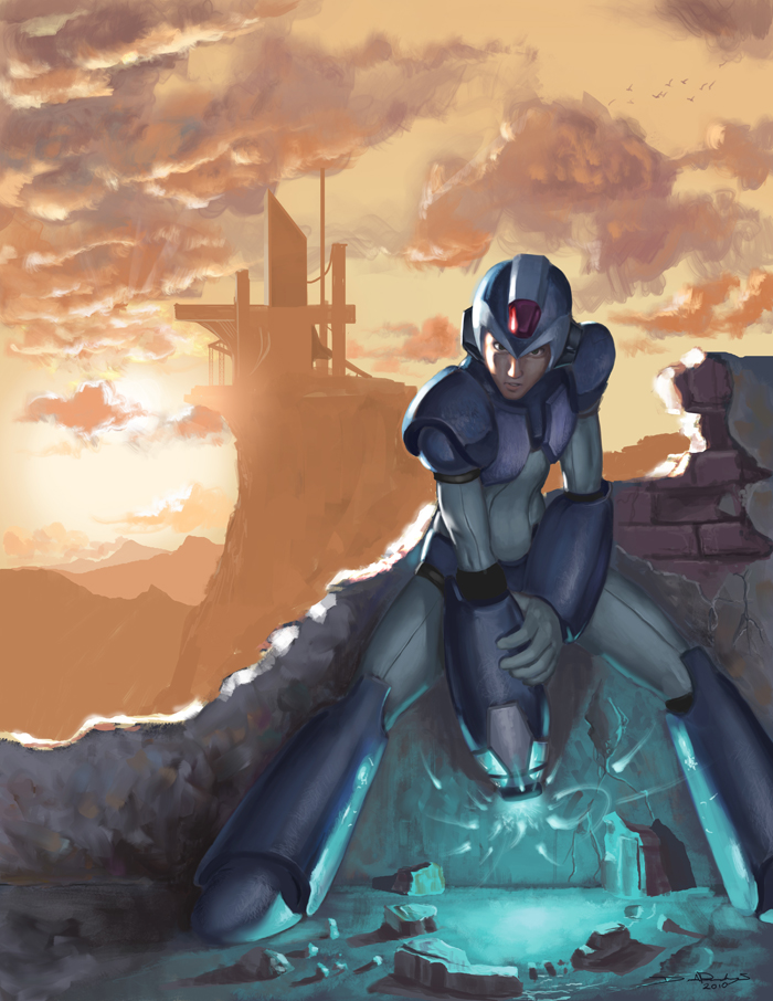 Megaman Tribute Entry by DHTenshi