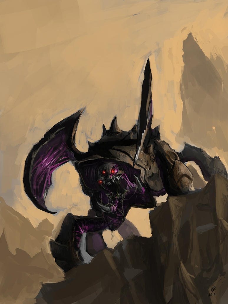 Zerg Roach by DHTenshi
