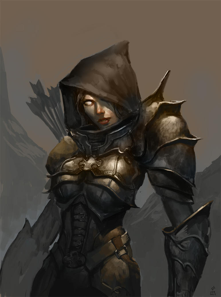 Demon Hunter by DHTenshi on DeviantArt