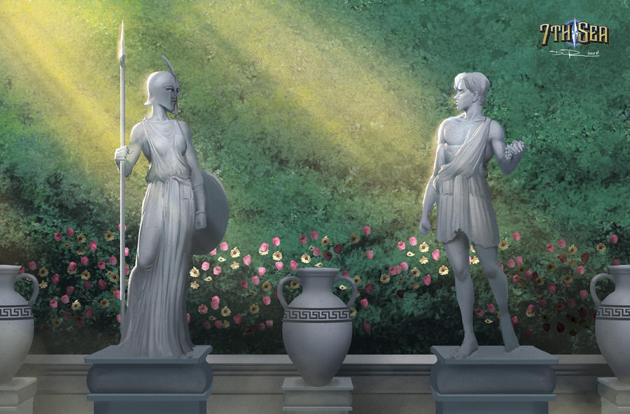 Numa Statues by DHTenshi