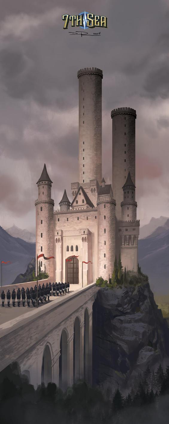 Eisen - Wachsamhertz Castle by DHTenshi