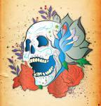 Skull Tattoo Correct Colour