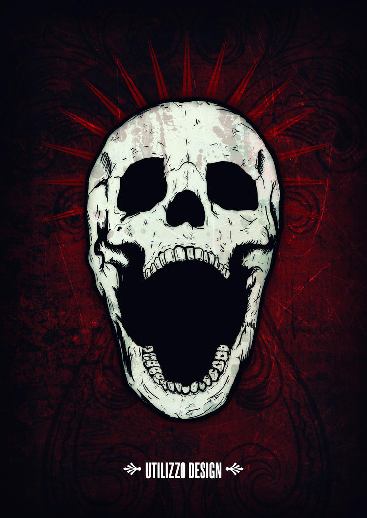 Screaming Skull By Utilizzo On DeviantArt