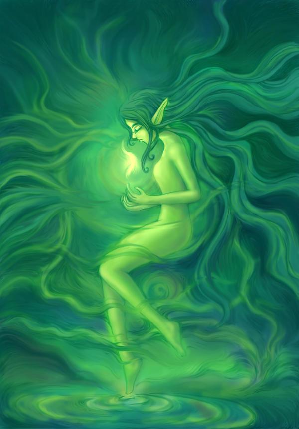 Fairy light,Wind fairy by kataneriel