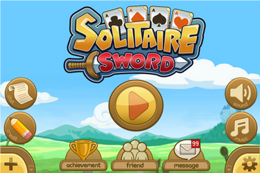 Solitaire Sword -  Title Scene