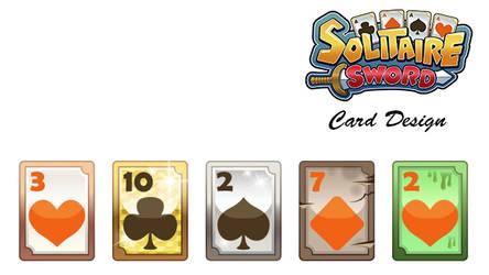 Solitaire Sword - Card Design