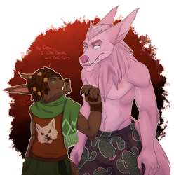 2 Werewolf by SKullArtOtaku