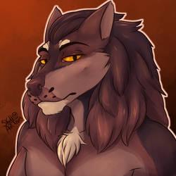Werewolf icon by SKullArtOtaku