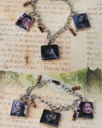 Two Sided Rumbelle Bracelet by NerdyRobotsJewelry