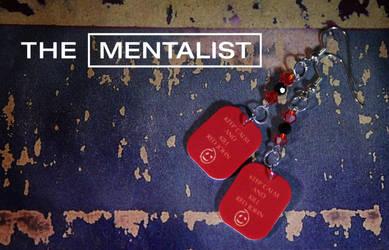 Mentalist Earrings by NerdyRobotsJewelry