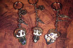 Supernatural Chibi Key Chains