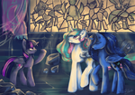 The legend of the four ponies apocalypse