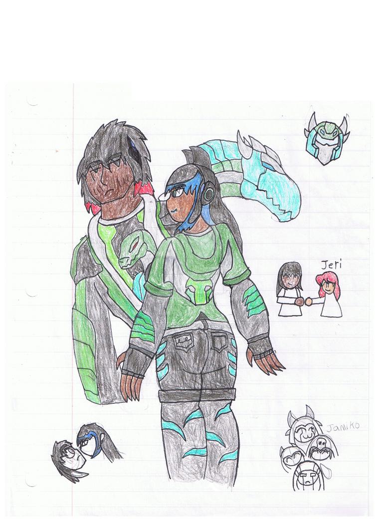ada the alpha girl of KAIJU ERA!!! by LEXA-Lexamus-Prime