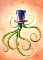 Victorian Era Squid Hat by Varin-maeus