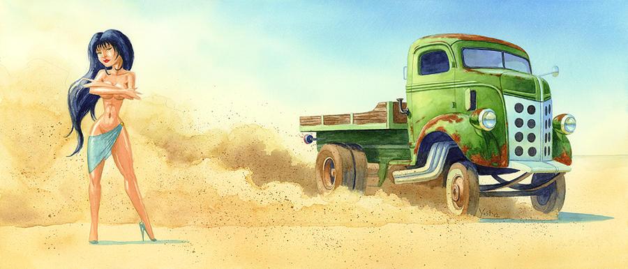 Temptation 2 - Cab Over Drift by Varin-maeus