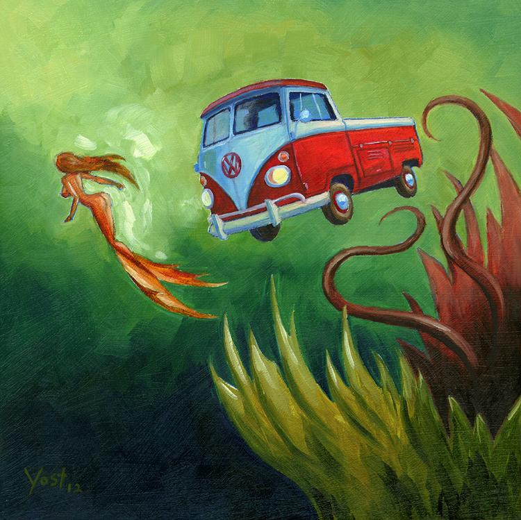 Marine Weirdos #3 - The Decoy by Varin-maeus