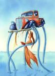 Sea Monster Repair by Varin-maeus