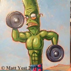 Bob the Meathead Cactus by Varin-maeus