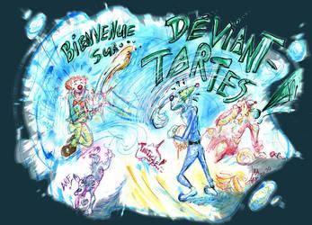 Bienvenue sur Deviant tartes by Kakhi-dot-dot-dot