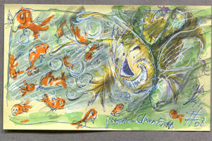 April #08 : Psycho-clownfish