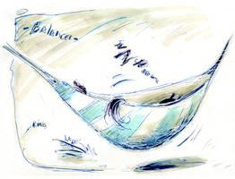 French Inktober 2019 - #09 : Balancer