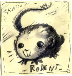 Inktober 2020 - Day 06 : Rodent